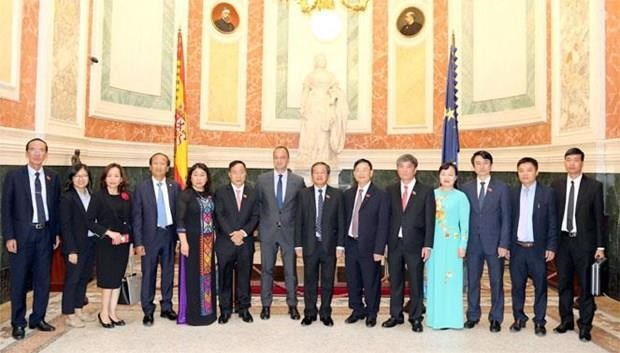 Proyectan Vietnam y Espana promover cooperacion en energia y turismo hinh anh 1