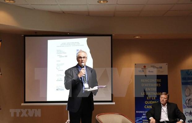 Intensifica Vietnam y provincia canadiense cooperacion en industria auxiliar hinh anh 1