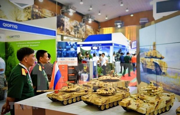 Inauguran en Vietnam Exposicion Internacional de Defensa y Seguridad hinh anh 1