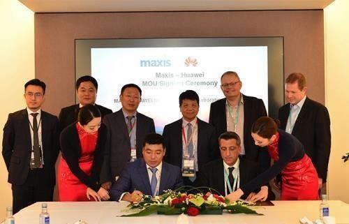 Firma grupo chino Huawei acuerdo para proveer servicios 5G en Malasia hinh anh 1