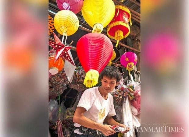 Celebraran Festival de la luz en Myanmar hinh anh 1