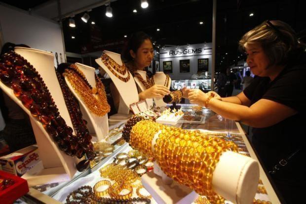 Aumenta Tailandia sus exportaciones de joyas y gemas hinh anh 1