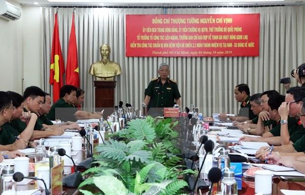 Prepara Vietnam recursos humanos para misiones de paz hinh anh 1