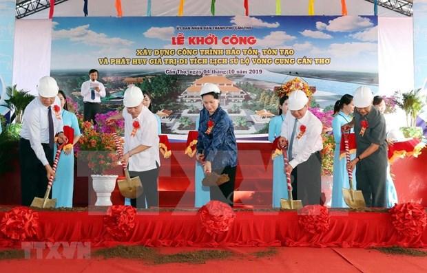 Inician construccion de zona conmemorativa de pasadas luchas en ciudad vietnamita de Can Tho hinh anh 1