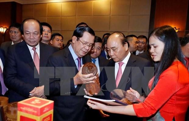 Realizan Conferencia de Promocion Comercial e Inversionista entre Vietnam y Camboya hinh anh 1
