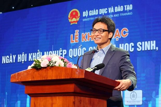 Efectuan en Vietnam Festival de Emprendimiento para estudiantes 2019 hinh anh 1