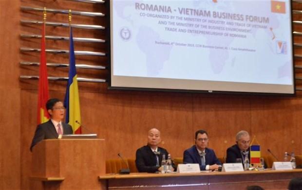Promueven empresas vietnamitas comercio en Rumania y Bulgaria hinh anh 1