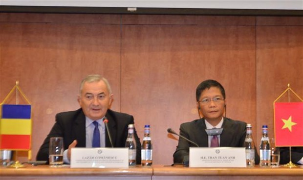 Celebran XVI Reunion del Comite Mixto sobre cooperacion economica Vietnam-Rumania hinh anh 1