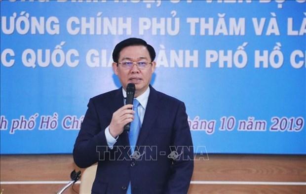Urge vicepremier vietnamita promover la autonomia universitaria hinh anh 1
