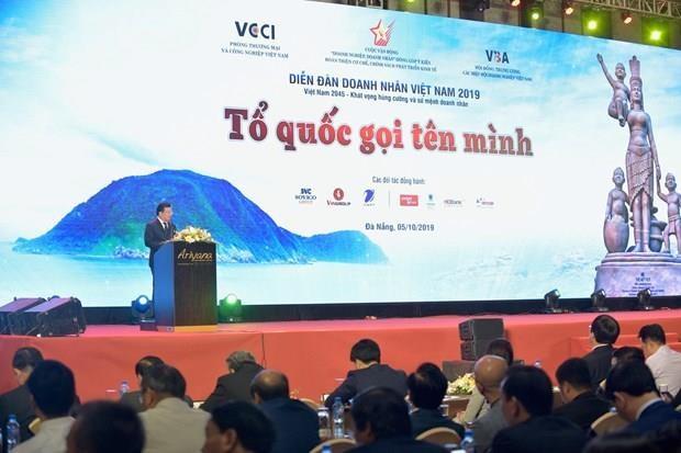 Vietnam promueve desarrollo del sector empresarial hinh anh 1