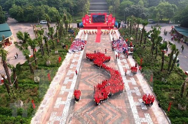 Inician en provincia vietnamita de Phu Tho campana patriotica juvenil hinh anh 1