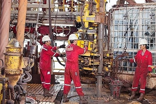 Plataforma PV Drilling V, milagro de la industria petrolera de Vietnam hinh anh 2