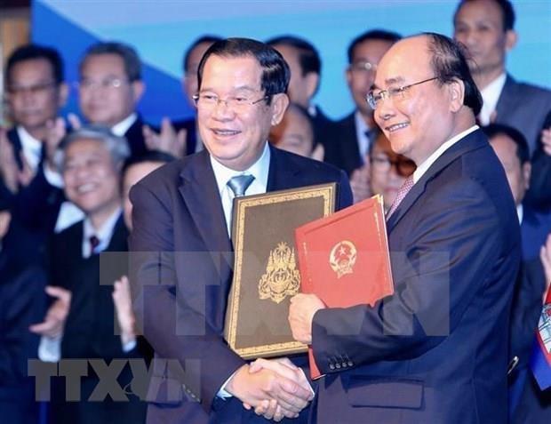Destaca prensa camboyana visita a Vietnam de primer ministro Hun Sen hinh anh 1