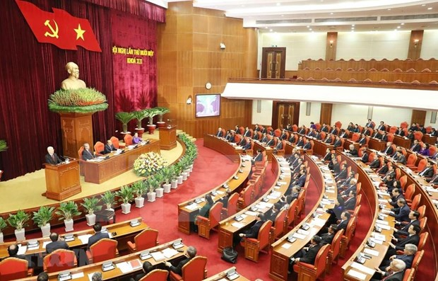 Analiza el Partido Comunista de Vietnam informe sobre proceso de transicion hacia socialismo hinh anh 1