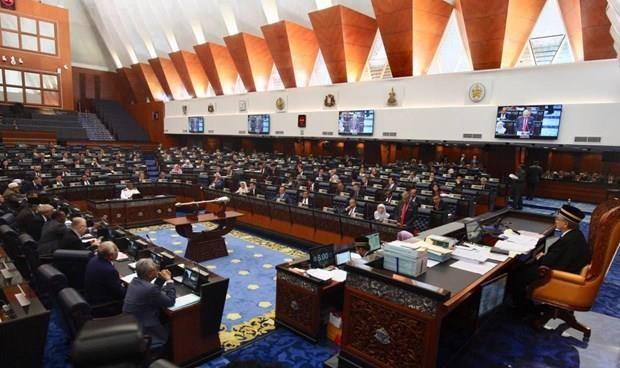 Convocan al reinicio de sesiones del Parlamento de Malasia hinh anh 1