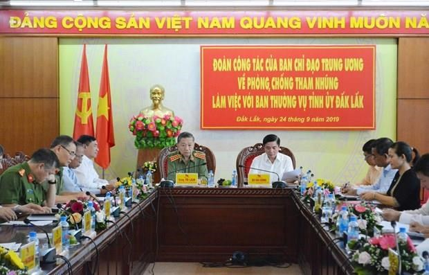 Partido Comunista de Vietnam por reforzar lucha contra abuso de poder hinh anh 1