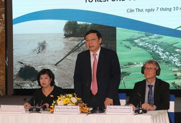 Debaten en Vietnam sobre politicas y leyes para enfrentar el cambio climatico hinh anh 1