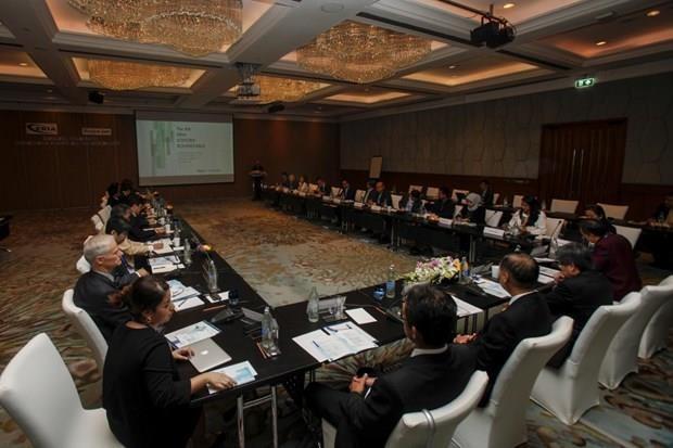 Guerra comercial no afectara la RCEP, afirma secretario general de ASEAN hinh anh 1