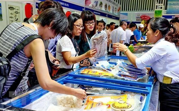 Inauguran en Hanoi Feria de Productos Acuaticos hinh anh 1