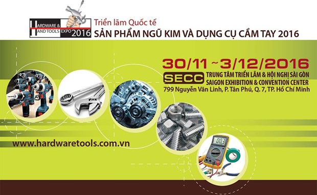 Celebraran en Vietnam Exposicion Internacional de Utensilios Metalicos y Herramientas Manuales hinh anh 1