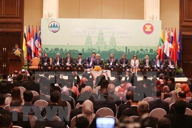 Inauguran reunion ministerial de la ASEAN sobre Medio Ambiente hinh anh 1