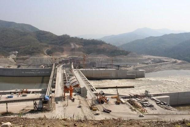 Planta hidroelectrica Xayaburi de Tailandia funcionara a maxima capacidad a partir de octubre hinh anh 1