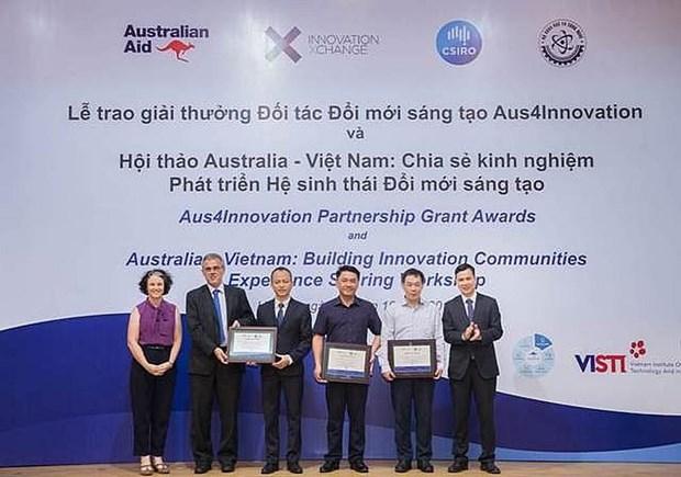 Intercambian Vietnam y Australia sobre desarrollo de ecosistemas de innovacion hinh anh 1