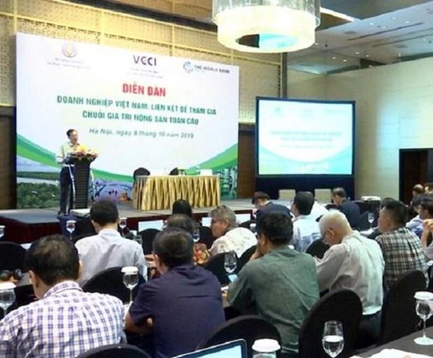 Vietnam por mayor participacion en cadena de valor global de productos agricolas hinh anh 1