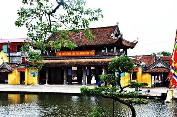 Festival en Nam Dinh recibe reconocimiento como Patrimonio Cultural Intangible de Vietnam hinh anh 1