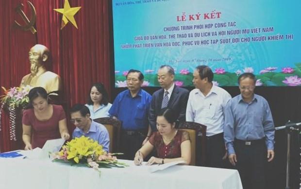 Facilita Vietnam aprendizaje regular a los invidentes hinh anh 1