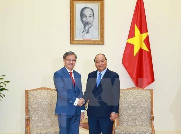 Vietnam aboga por fomentar lazos con Laos en mecanismos internacionales hinh anh 1