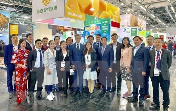 Participa Vietnam en Feria Internacional de Alimentos en Alemania hinh anh 1