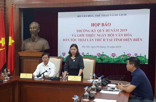 Participaran mas de 600 artistas en Festival de Cultura de la etnia Thai en Vietnam hinh anh 1