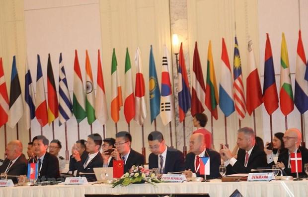 Acoge Vietnam conferencia de jefes aduaneros de Reunion Asia-Europa hinh anh 1