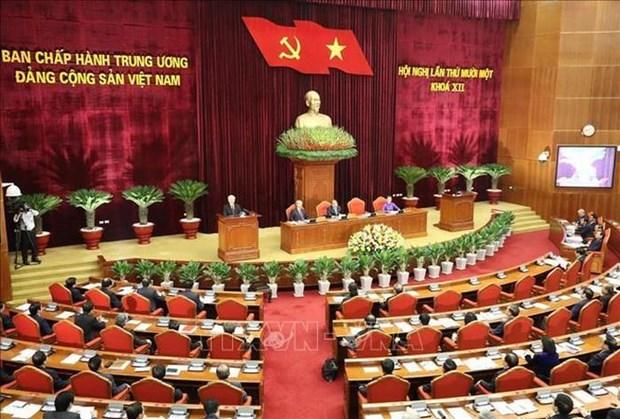 Prosigue XI pleno del Comite Central del PCV con analisis sobre misiones socioeconomicas hinh anh 1