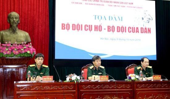 Destacan en Vietnam dignidad del ejercito del Presidente Ho Chi Minh hinh anh 1
