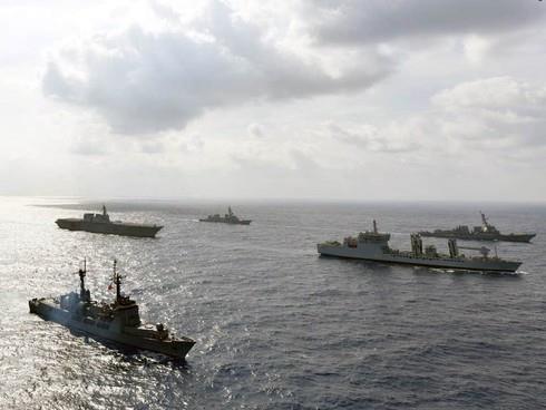 Realizan Estados Unidos, Filipinas y Japon simulacros de respuesta a desastres hinh anh 1