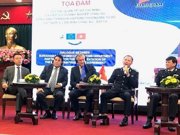 Se prepara la aduana de Ciudad Ho Chi Minh para implementar el EVFTA hinh anh 1