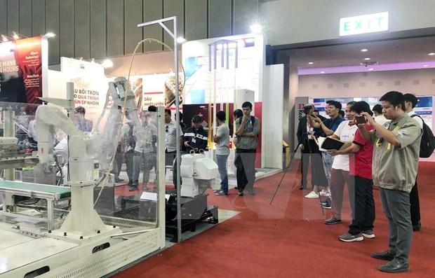 Inauguran en Ciudad Ho Chi Minh muestras de la industria auxiliar hinh anh 1