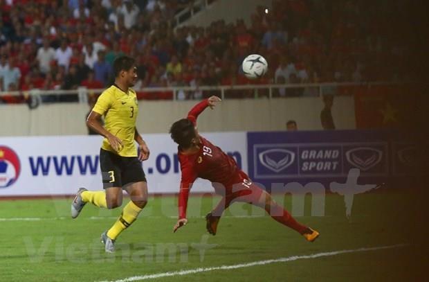 Gana Vietnam a Malasia en eliminatoria asiatica de Copa Mundial hinh anh 1