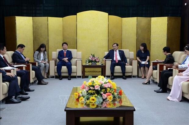 Promueven cooperacion entre ciudad vietnamita de Da Nang y localidad sudcoreana hinh anh 1