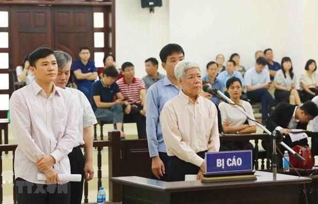 Comienza en tribunal de Hanoi juicio de apelacion sobre caso Vinashin hinh anh 1
