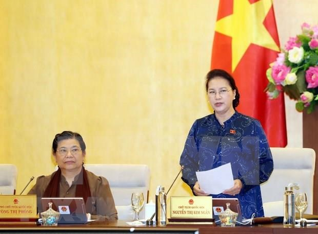 Inciara Comite Permanente del Parlamento de Vietnam su reunion 38 hinh anh 1