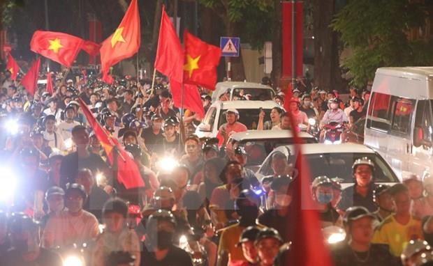 Alaba la prensa asiatica victoria de seleccion de futbol de Vietnam ante Malasia hinh anh 1