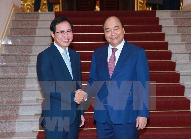 Propuso Vietnam apoyo de Samsung a construccion de gobierno electronico hinh anh 1