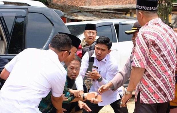Indican en Indonesia relacion con el EI de los responsables de atentado contra ministro hinh anh 1