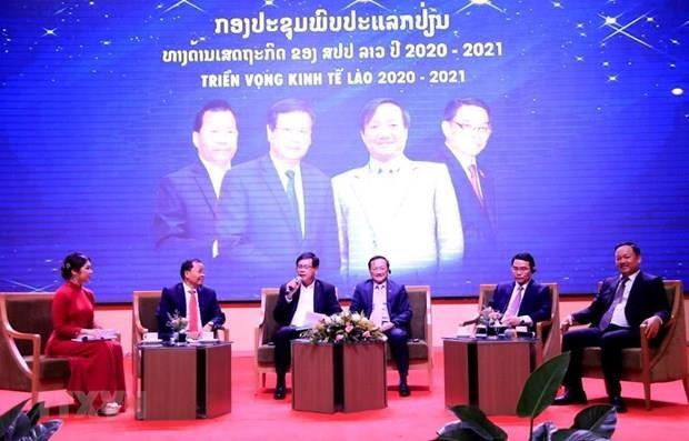 Destacan contribucion de empresas vietnamitas al desarrollo de Laos hinh anh 1