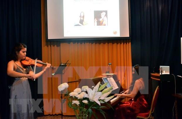 Celebran espectaculo musical para conmemorar reconocimiento suizo al compositor vietnamita  hinh anh 1