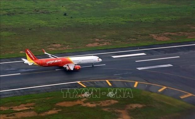 Vietjet Air reajusta planes de vuelos a Japon debido al tifon Hagibis hinh anh 1
