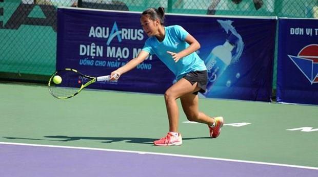 Celebran en Da Nang el Campeonato asiatico de Tenis sub14 - grado A hinh anh 1